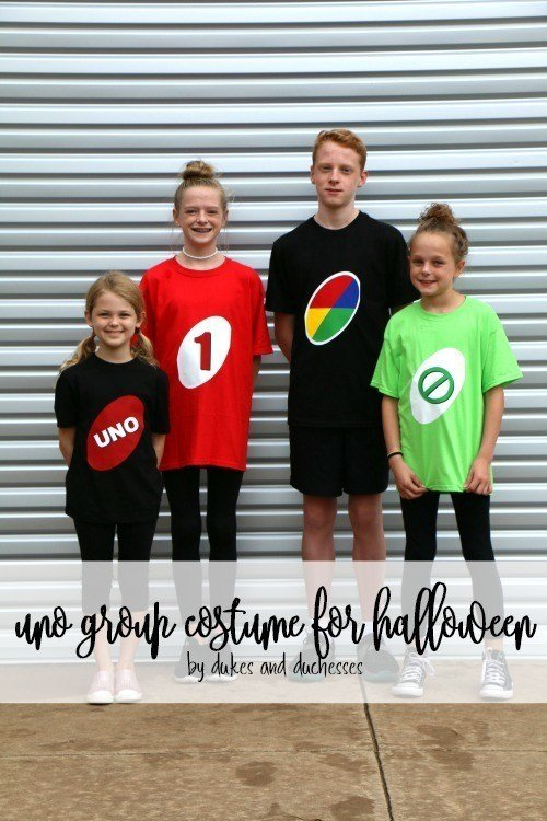 DIY Halloween Costumes for Kids - Uno group