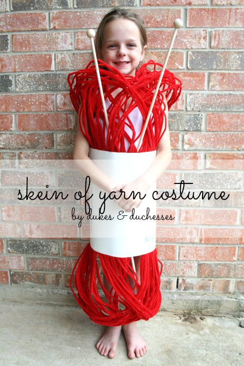 DIY Halloween Costumes for Kids - Yarn