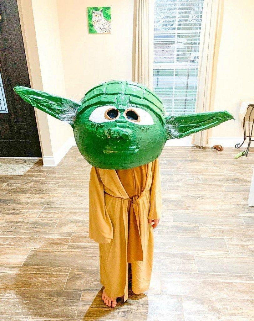 DIY Halloween Costumes for Kids - Yoda