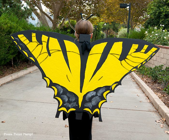 DIY Halloween Costumes for kids - Butterfly