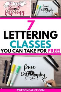 The Best Online Hand Lettering Classes You Need to Take