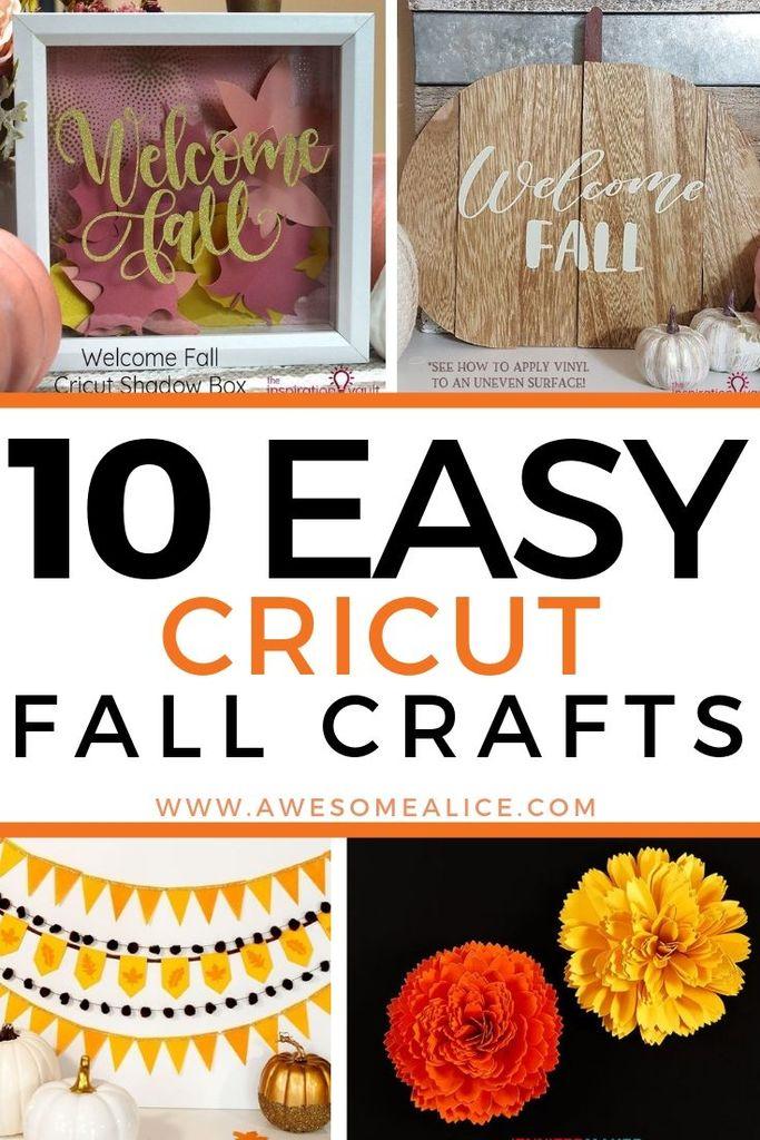 10 Beautiful Fall Cricut Projects You Can Easily Make