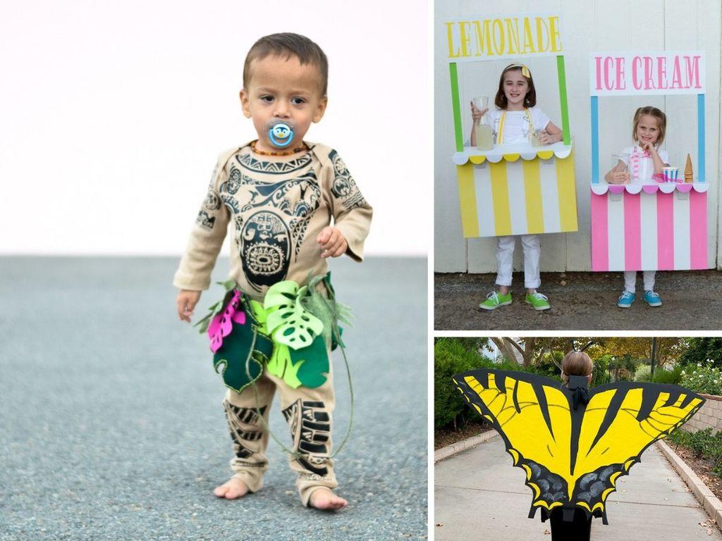 50 Easy DIY Halloween Costumes For Kids