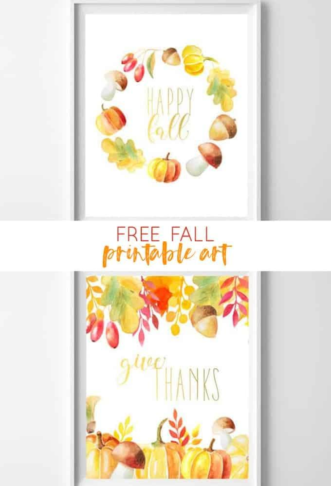 graphic about Free Fall Printable referred to as 15 Cost-free Drop Printables Towards Embellish Your Dwelling With Remarkable