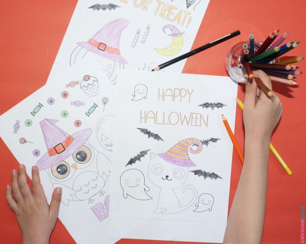 Free Printable Coloring Pages For Halloween Awesome Alice