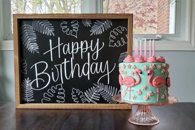 Create Your Own DIY Chalkboard Signs for Any Event